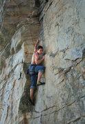 Rock Climbing Photo: At Pilot on Blind Prophet?
