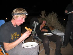 Rock Climbing Photo: the art of losing the dam pie eating contest 3 yea...