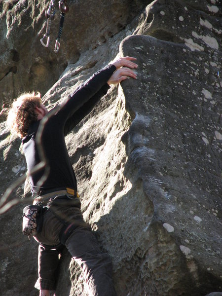 Rock Climbing Photo: Matt S on Piss Ant