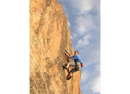 Rock Climbing Photo: L. Mehall.