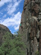 Rock Climbing Photo: Shows the line pretty well.