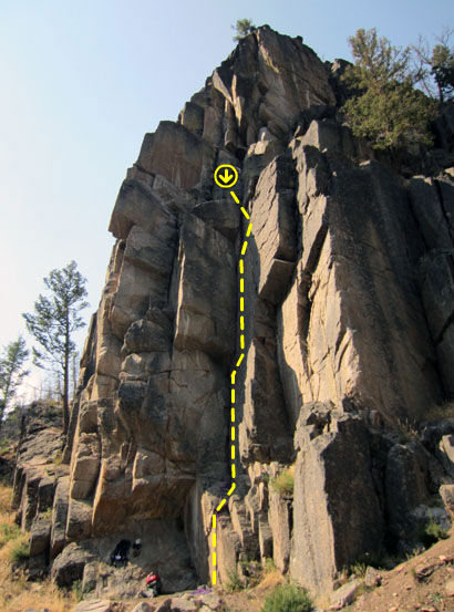 Rock Climbing Photo: Righteous are the Brave
