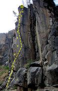 Rock Climbing Photo: Phil em 'Up