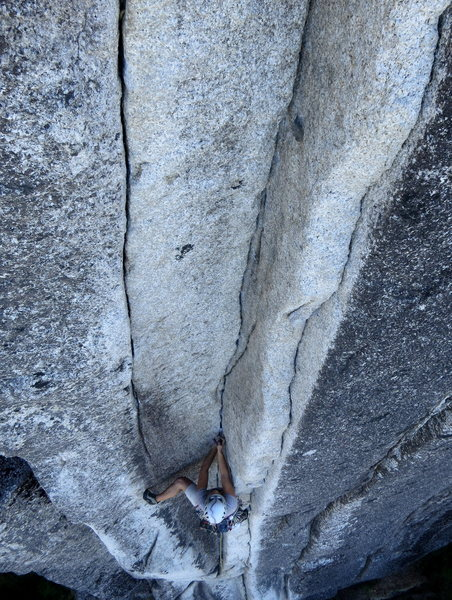 Rock Climbing Photo: Squamish Buttress. 8/2012.   Photo: Corey Gargano