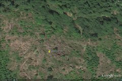 Rock Climbing Photo: whorf boulder, clearcut area  visible on google ea...