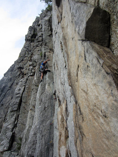 Rock Climbing Photo: great views up there