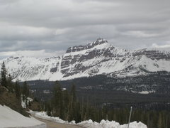 Rock Climbing Photo: Early spring view of Hayden Peak.