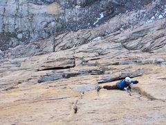 Rock Climbing Photo: 5.12- pitch.