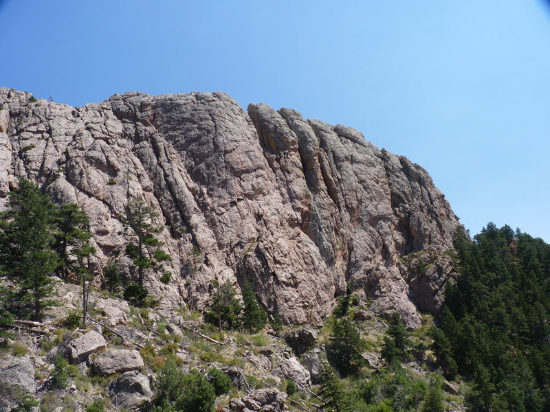 Horsetooth Rocks' West face.