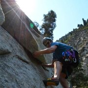 Rock Climbing Photo: sasquatch in Little Cottonwood Canyon