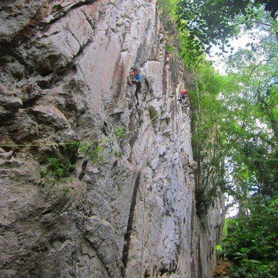 "Rock Climbing Photo: beta photo ""Son of Slash"""
