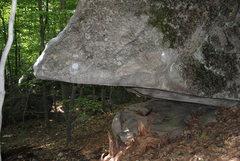 Rock Climbing Photo: One side of The Butterknife