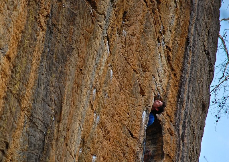 Rock Climbing Photo: Peek-a-boo!