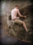 Rock Climbing Photo: BK thunderclinging