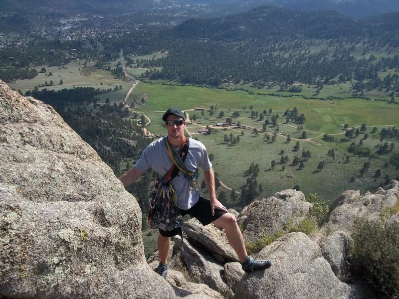 Rock Climbing Photo: Twin Owls summit.