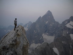 Rock Climbing Photo: The Grand Traverse: (Right to Left): Mt.Owen, The ...