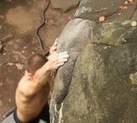 Rock Climbing Photo: didnt stick it