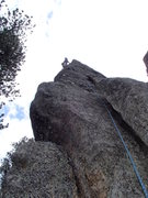 Rock Climbing Photo: Kodah.  A couple fist and finger sized cams will g...