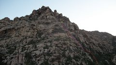 Rock Climbing Photo: Approach/descent for mossy ledges.