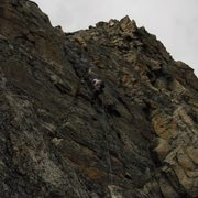 Rock Climbing Photo: 3rd Rappel off Sharkstooth