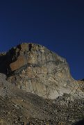 Rock Climbing Photo: The Hairpin Buttress from Hairpin Lake