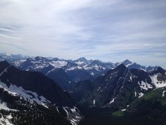 Rock Climbing Photo: Cascades. Oh joy!