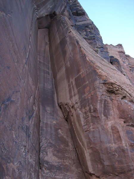 Rock Climbing Photo: bottom up P1