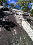 Rock Climbing Photo: The Whitestone Slab. Quality leads or TR'ing in th...