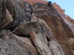 Rock Climbing Photo: bottom up P4