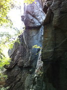 Rock Climbing Photo: Palm pilot starts on the wall just to the left of ...