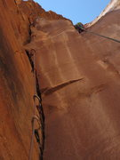 Rock Climbing Photo: bottom up of P6