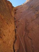 Rock Climbing Photo: bottom up P7