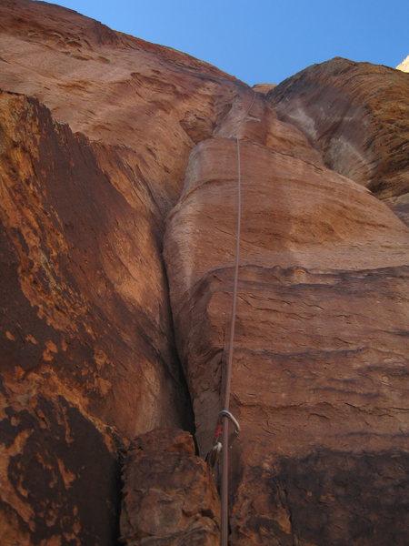 Rock Climbing Photo: bottom up P9?