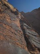 Rock Climbing Photo: bottom up P11 after bolt