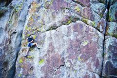Rock Climbing Photo: Jennilyn TRing Where Rangers Retire.