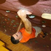Gym climbing in Korea