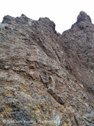 Rock Climbing Photo: Previously uploaded image with the beta crap all o...
