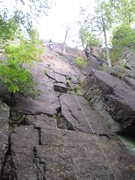 Rock Climbing Photo: Or you can go straight up