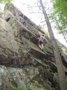 Rock Climbing Photo: The blue rope is on W&W.