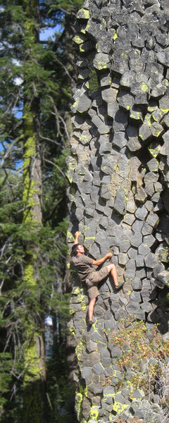 Rock Climbing Photo: Climber on Hexentric.