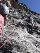 Rock Climbing Photo: Start of P2