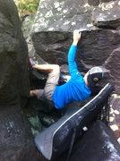 Rock Climbing Photo: Joe getting after it.
