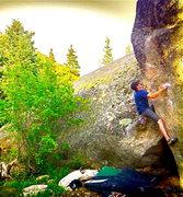 Rock Climbing Photo: Marty on UK.
