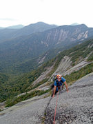 Rock Climbing Photo: This is the last pitch of the SF Gothics, NY on th...