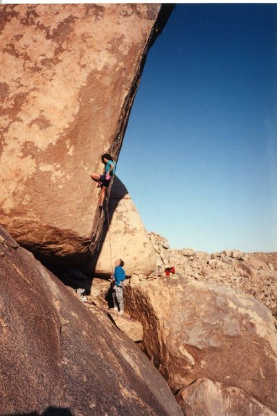 Rock Climbing Photo: Mari Gingery on Dictators of Anarchy aka Skinhead ...