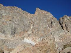Rock Climbing Photo: Honcho Boncho on approach.