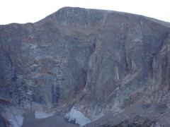 Rock Climbing Photo: Mt. Fairchild.