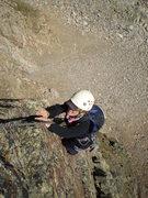 Rock Climbing Photo: The Angel of Choss herself, Jenny Ball, high on pi...