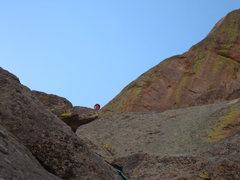 Rock Climbing Photo: Scott W. having fun.