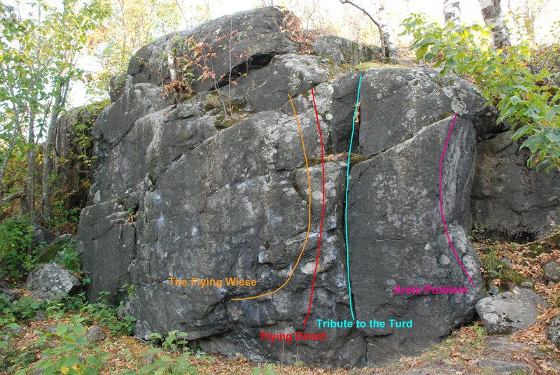 Rock Climbing Photo: Piedmont Boulders